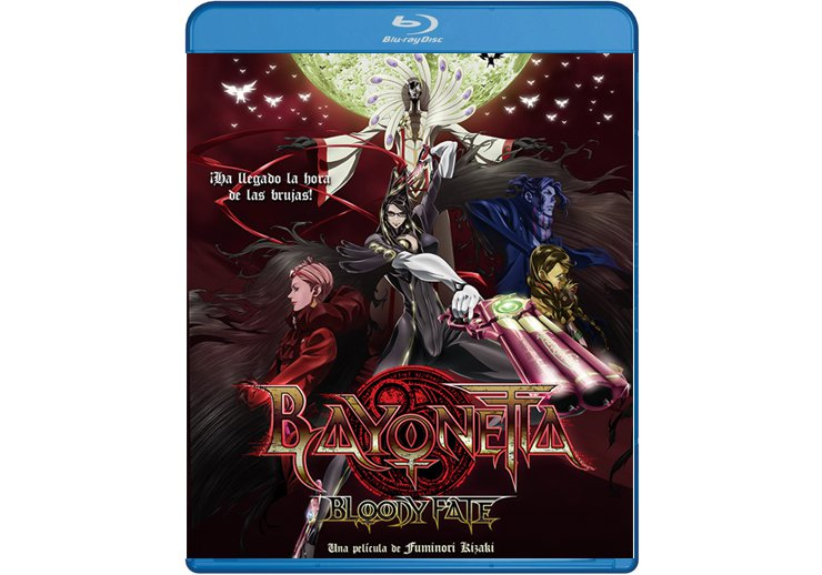 Bayonetta Bloody Fate en Blu Ray