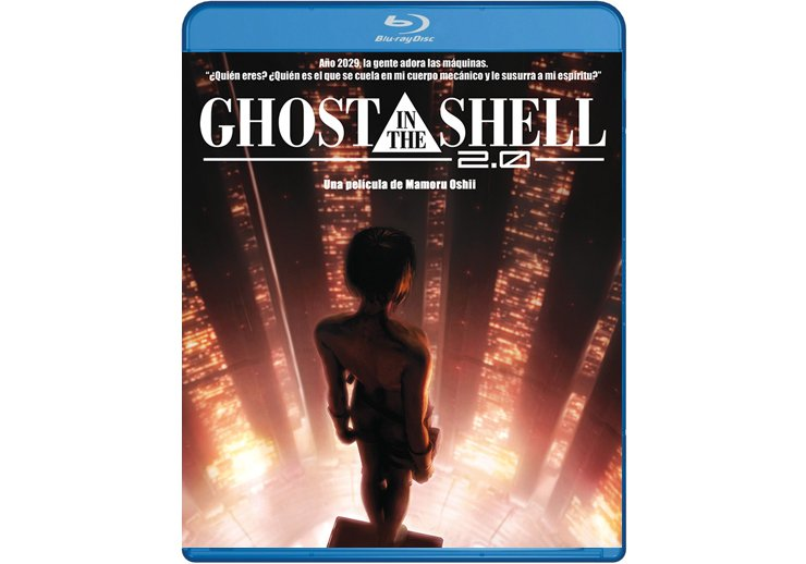 Ghost in the Shell 2.0 en Blu Ray