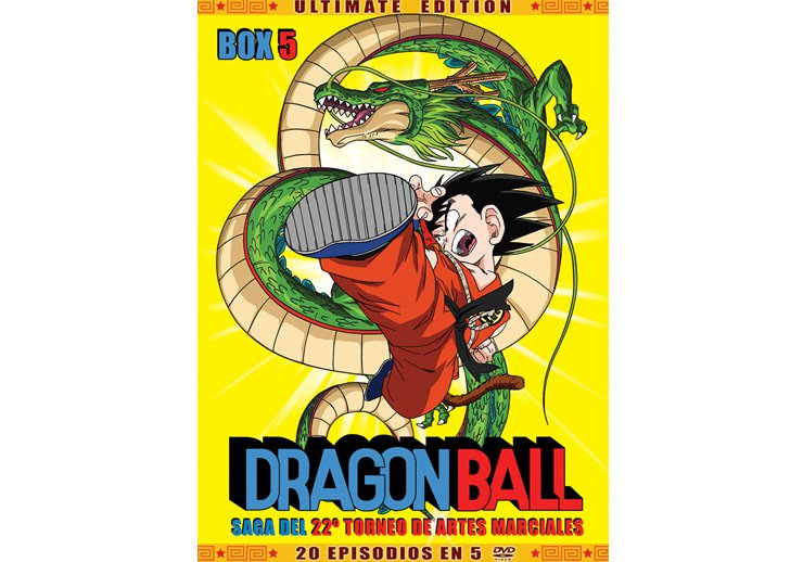 Dragon Ball dvd temporada 5