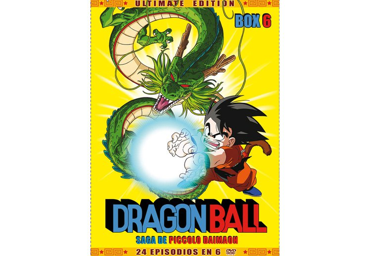 Dragon Ball dvd temporada 6