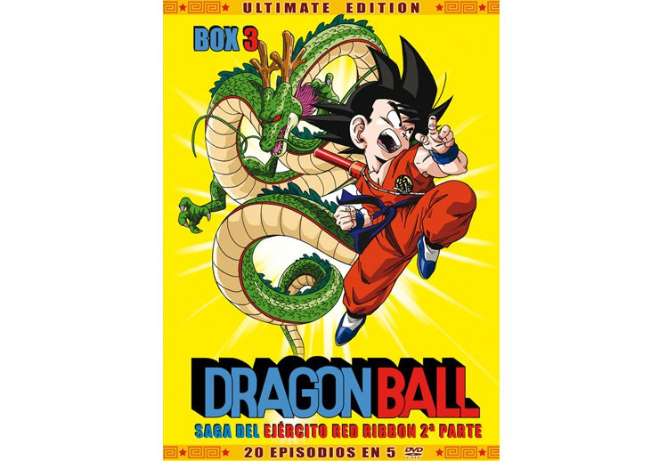 Dragon Ball dvd temporada 3