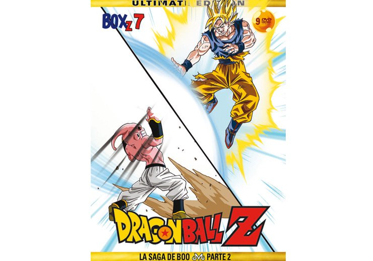 Dragon Ball Z dvd temporada 7