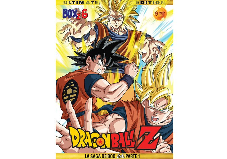 Dragon Ball Z dvd temporada 6