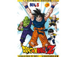 Dragon Ball Z dvd temporada 3
