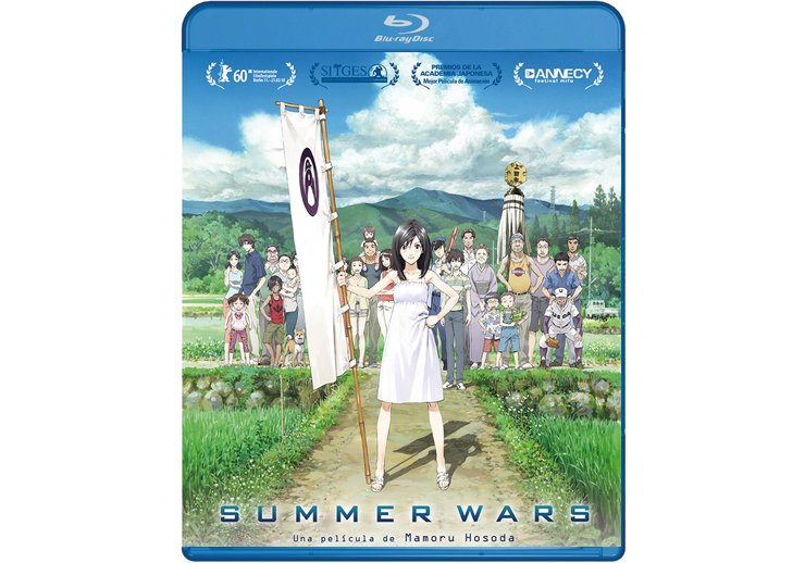 Summer Wars en Blu Ray