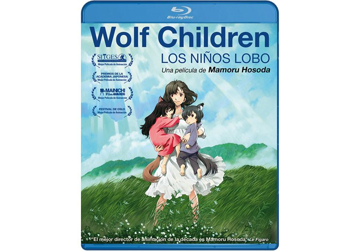 Wolf Children en Blu Ray